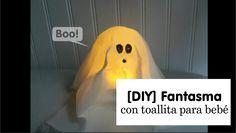 [DIY] Cómo hacer un fantasma para Halloween con toallitas de bebé | Ya se acerca Halloween! Y hoy haremos un espeluznante, nah! amigable fantasma con una toallita para bebé ;)  Ah! Y no te pierdas el avance del siguiente video que esta al final de este ;)    Si te gustó este video dale manita arriba y no te olvides de suscribirte a mi canal de Youtube :)