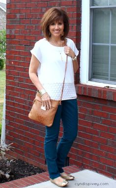 Colored Denim For Fall