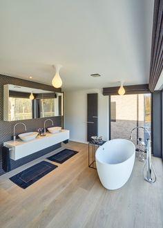 ANYWAY DOORS - Nieuwbouwvilla met moderne binnendeuren - Hoog ■ Exclusieve woon- en tuin inspiratie.