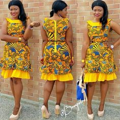 Here's Fashionable african fashion African Fashion Designers, Latest African Fashion Dresses, African Dresses For Women, African Print Dresses, African Print Fashion, Africa Fashion, African Attire, African Wear, African Women