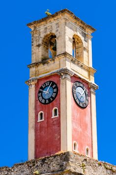 Corfu Clock Tower