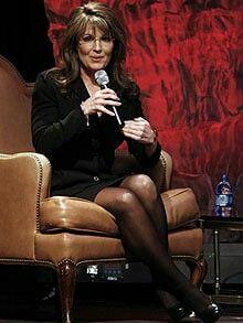 Sarah Palin Legs Newsweek