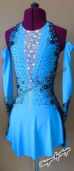 Latin Ballroom Dresses, Dance Dresses, Americans Got Talent, Figure Skating Dresses, Tampa Bay, Page Design, Dance Costumes, Costume Design, Designer Dresses