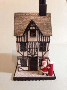 tim holtz village brownstone - Google Search