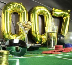 James Bond Party 007 Balloons