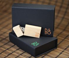 Bang & Olufsen Custom Flash Drives & Packaging Concept. on Behance