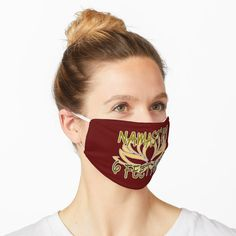 'Namastay 6 feet away - Lotus - Covid 19 - Best gifts for 2020 survivors - Namaste' Mask by BestStuffDepot Crazy Outfits, Dress Clothes For Women, Mask Design, Classy Dress, Amazing Things, Snug Fit, Life Is Beautiful, Things To Buy, Namaste