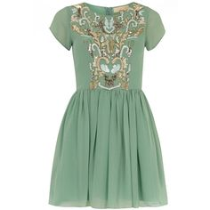 Dorothy Perkins Mint green embellished dress (130 BAM) ❤ liked on Polyvore featuring dresses, green, sequin cocktail dresses, green cap sleeve dress, zipper dress, green cocktail dress and mint green cocktail dress