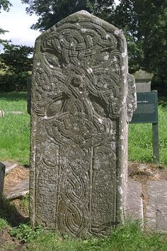Fahan Monastery, County Donegal, Ireland - Celtic Monks Order - Founded by St… Cemetery Headstones, Old Cemeteries, Graveyards, Emerald Isle Ireland, Celtic Art, Celtic Crosses, Irish Roots, Ireland Homes, Celtic Patterns