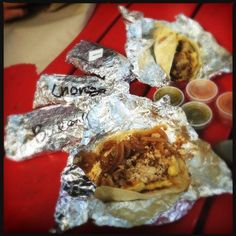 The Famous Tornado Taco of Spring Branch (Steak, Egg, and Grilled Onion Tacos)
