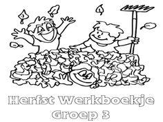 Herfst Werkboekje Groep 3