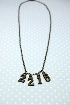 A great looking necklace for every Sherlock Holmes fan, with the iconic address in bronze charms. $20.00