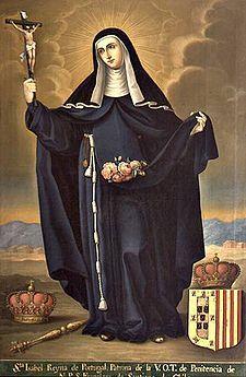 Sant'Elisabetta di Portogallo[2] Nascita 4 gennaio 1271 Morte 4 luglio 1336 Venerata da Chiesa cattolica Canonizzazione 1625, da Papa Urbano VIII Ricorrenza 4 luglio . Sorella di Federico III re di Sicilia