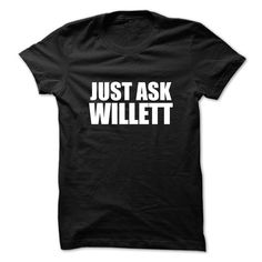 [Hot tshirt name printing] Just ask WILLETT  Shirts This Month  Just ask WILLETT  Tshirt Guys Lady Hodie  SHARE and Get Discount Today Order now before we SELL OUT  Camping a vest thing you wouldnt understand tshirt hoodie hoodies year name birthday a yaden thing you wouldnt understand name hoodie shirt hoodies shirts ask willett just ask