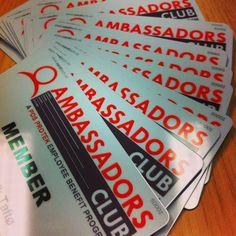 Nye #ambassadør kort Club, Signs, Shop Signs, Sign, Signage, Dishes