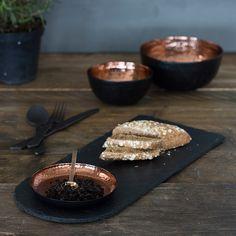 Just Slate Copper & Slate Serving Platter