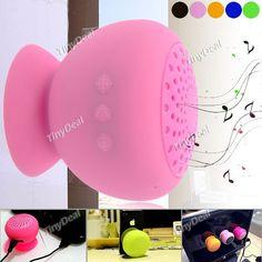 Waterproof Sucker Bluetooth V2.0 Wireless Speaker w/ Micro USB