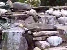 A http://drandreahayeck.com repin. A wonderful dentist in Linden serving many Cranford residentts.    Pondless Waterfall Installation Scotch Plains, NJ - YouTube