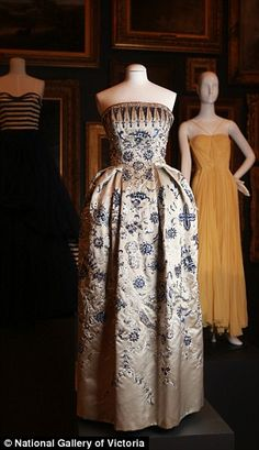 One of the world's most sought-after fashion collections featuring designs by Christian Dior and Coco Chanel from 1800 to 2003 has been unveiled by the National Gallery of Victoria.