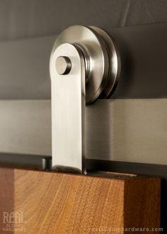 Stainless Steel Aero Flat Track Hardware | Real Sliding Hardware