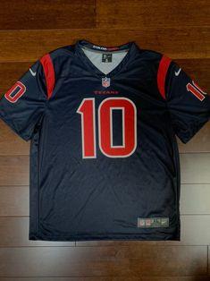 Houston Texans Deandre Hopkins color rush jersey by Nike SZ XL ...