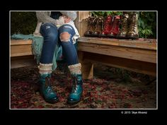 A class photo project: Product in Situation.  #Dromedaris #boots Photo by: Skye Photography