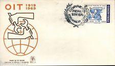 Perú 1970 Fdc OIT Organizacion Internacional Del Trabajo