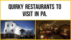 These out-of-the-ordinary restaurants stand out for many reasons, whether it be the name, atmosphere or menus. These Pennsylvania restaurants will definitely have you talking.  Tell us about any quirky and unusual restaurants you know about in Pennsylvania.
