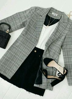 Summer Fashion Outfits, Fall Outfits, Summer Fashions, Mode Ootd, Look Blazer, Look Fashion, Womens Fashion, Fashion Fall, Petite Fashion