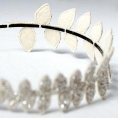 Giant Dwarf // Laurel Crown // Diamond. $148.00, via Etsy.