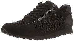 Kennel und Schmenger Schuhmanufaktur Runner, Damen Sneakers, Schwarz (schwarz/black So. schwarz 610), 40.5 EU (7 Damen UK) - http://on-line-kaufen.de/kennel-und-schmenger-schuhmanufaktur/40-5-eu-kennel-und-schmenger-schuhmanufaktur-111