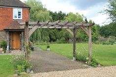 Round Wood of Mayfield's Pergolas are now online.
