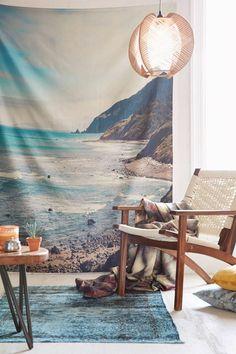 tapis saint maclou et le tapis design de couleur bleu clair