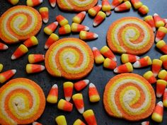 Halloween Candy Corn Swirl Cookies Are Ridiculously Easy to Make (RECIPE)