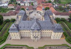 Luftbild : KH Schloss Werneck
