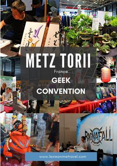 Take a tour at Metz Torii Geek Convention in France Best Places To Travel, Places To Visit, Travel Pictures, Travel Photos, Travel Guides, Travel Tips, Travel Around The World, Travel Inspiration, Travel Destinations