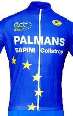 Palmans Euro Niels Albert Cyclocross Champion Full Zipper Jersey Jersey