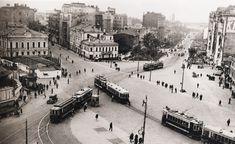 Наум Грановский. Площадь Красных ворот 1932 г.