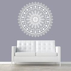 Vinyl Wall Decal Sticker Bedroom Mandala Ornament Ganesh Yoga Morrocan r295