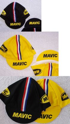 Hats Caps and Headbands 158994: Mavic Classic Team Cycling Cap New Hat Black, Yellow, Or Both *** BUY IT NOW ONLY: $35.95