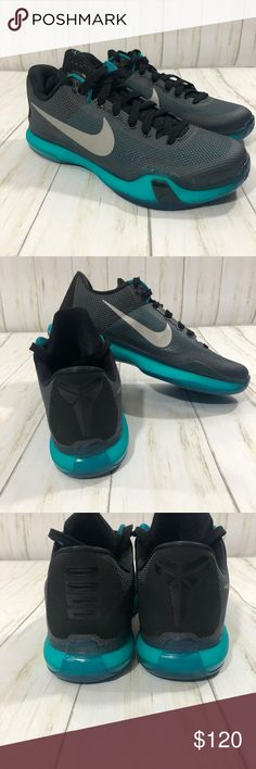 low priced 815d2 42a54 Shop Men s Nike Blue Black size Athletic Shoes at a discounted price at  Poshmark. Description  Men s Nike Kobe X 10 Low Liberty These are brand  new, no box.