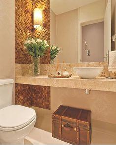 Trendy Apartment Small Bathroom Home Decor Ideas Guest Toilet, Small Toilet, Best Bathroom Designs, Bathroom Interior Design, Modern Bathroom, Small Bathroom, Wc Decoration, Amazing Bathrooms, Bathroom Inspiration