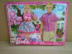 Barbie Ken Fashionistas Love Fashion Pack Outfits Clothes 2012 Mattel (No Doll) Mattel Barbie, Barbie And Ken, Barbie Dolls, Barbie Doll Accessories, Doll Clothes Barbie, California Girl Fashion, Princess Charm School, Barbie Fashionista, Barbie Princess