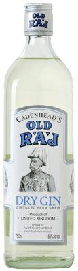 Old Raj Gin — for RAJ