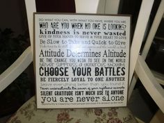 Inpirational Quotes Wall Plaque  Wooden Plaque by LDSDecordotcom, $27.00