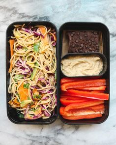 Cold Soba Noodle Salad with Peanut Sauce (Vegan) - From My Bowl - Lunch Recipes Bento Recipes, Salad Recipes, Vegetarian Recipes, Healthy Recipes, Healthy Chips, Cheap Recipes, Sandwich Recipes, Lunch Meal Prep, Healthy Meal Prep
