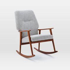 High Back Rocking Chair   west elm