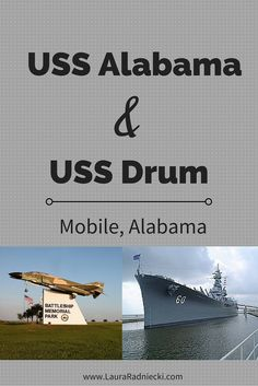 A look at the USS Alabama and USS Drum in the Battleship Memorial Park in Mobile, Alabama. Tour a ship and see what it was like to live inside. Explore a submarine and see the tiny spaces they lived and worked in. A fascinating tour!