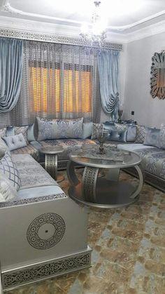 Les 35 meilleures images de Salon marocain blanc | Salon ...