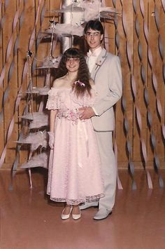 35 Ridiculous '80s Prom Photos and literally are all ridiculous